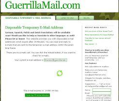 guerillamail