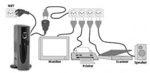 Schema collegamento PSX