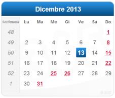 13 dicembre