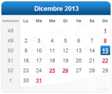 15 dicembre