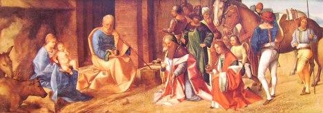 Giorgione - L'adorazione dei Magi