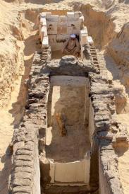 Archeologia: scoperta in Egitto tomba Faraone sconosciuto
