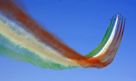 passaggio frecce tricolori