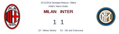 Milan 1   1 Inter   legaseriea.it